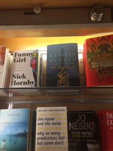 At airport bookstore  this weekend