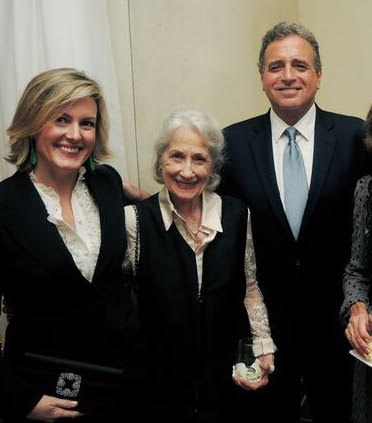 Keith Meacham, Dolores Seigenthaler, John Seigenthaler at Literary Gala Patrons Party