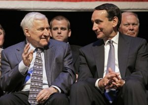 Coach Smith and Coach K image from quora.com
