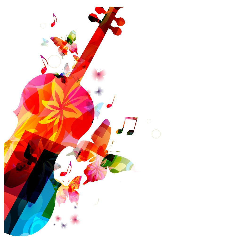 35637881 - colorful music background