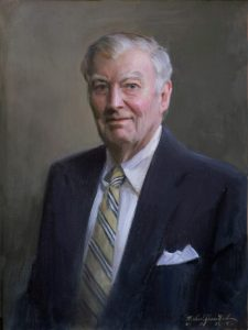 Portrait painted by Michael Shane Neal