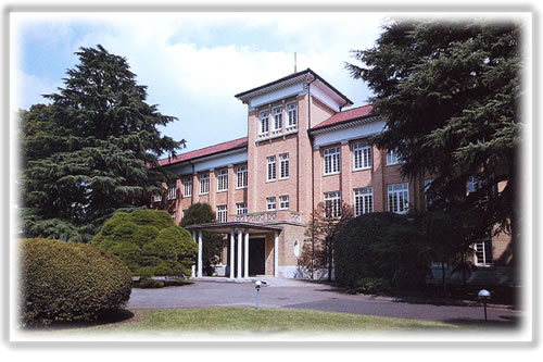 One building at Tsuda College now
